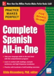 Ebook in inglese Practice Makes Perfect: Complete Spanish All-in-One Nissenberg, Gilda