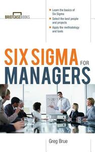 Six SIGMA for Managers - Brue - cover