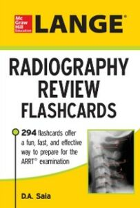 Ebook in inglese LANGE Radiography Review Flashcards Saia, D. A.