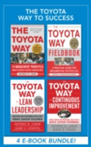 Ebook in inglese Toyota Way to Success EBOOK BUNDLE Franz, James K. , Liker, Jeffrey K. , Meier, David