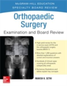 Ebook in inglese Orthopaedic Surgery Examination and Board Review Sethi, Manish K.