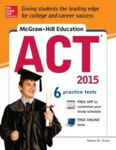 Ebook in inglese McGraw-Hill Education ACT, 2015 Edition Dulan, Steven