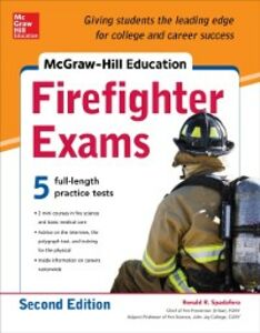 Foto Cover di McGraw-Hill Education Firefighter Exam, 2nd Edition, Ebook inglese di Ronald Spadafora, edito da McGraw-Hill Education