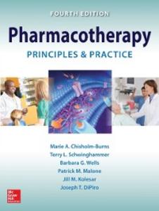 Ebook in inglese Pharmacotherapy Principles and Practice, 4E Chisholm-Burns, Marie A. , DiPiro, Joseph T. , Kolesar, Jill M. , Malone, Patrick