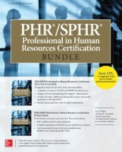 Ebook in inglese PHR/SPHR Professional in Human Resources Certification Bundle Moreland, Tresha , Parente-Neubert, Gabriella , Simon-Walters, Joanne , Truesdell, William H.