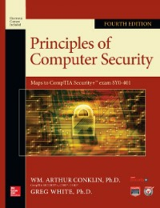 Ebook in inglese Principles of Computer Security, Fourth Edition Cothren, Chuck , Davis, Roger , White, Greg , Williams, Dwayne