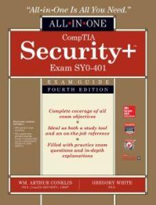 Ebook in inglese CompTIA Security+ All-in-One Exam Guide, Fourth Edition (Exam SY0-401) Conklin, Wm. Arthur , Cothren, Chuck , Davis, Roger , White, Greg