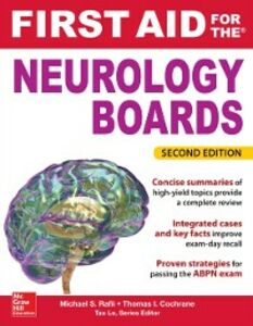Ebook in inglese First Aid for the Neurology Boards, 2nd Edition Cochrane, Thomas , Rafii, Michael