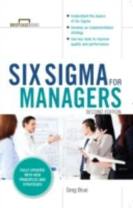 Ebook in inglese Six Sigma for Managers, Second Edition (Briefcase Books Series) Brue, Greg