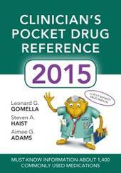 Clinicians Pocket Drug Reference 2015