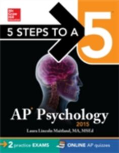 Ebook in inglese 5 Steps to a 5 AP Psychology, 2015 Edition Maitland, Laura Lincoln