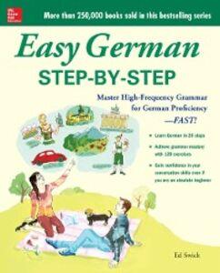 Ebook in inglese Easy German Step-by-Step Swick, Ed