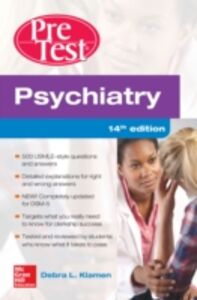 Foto Cover di Psychiatry PreTest Self-Assessment And Review, 14th Edition, Ebook inglese di Debra Klamen,Philip Pan, edito da McGraw-Hill Education