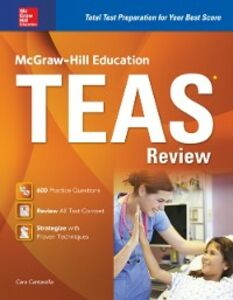 Ebook in inglese McGraw-Hill Education TEAS Review Cantarella, Cara