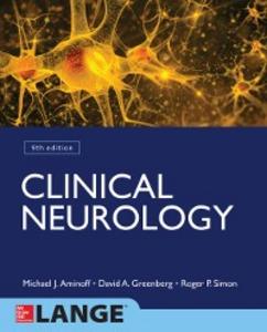 Ebook in inglese Clinical Neurology 9/E Aminoff, Michael , Greenberg, David , Simon, Roger