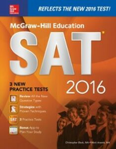 Ebook in inglese McGraw-Hill Education SAT 2016 Edition Anestis, Mark , Black, Christopher