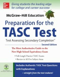 Ebook in inglese McGraw-Hill Education Preparation for the TASC Test 2nd Edition Zahler, Kathy A.
