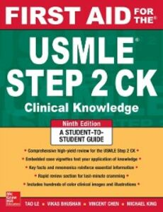 Ebook in inglese First Aid for the USMLE Step 2 CK, Ninth Edition Bhushan, Vikas , Le, Tao