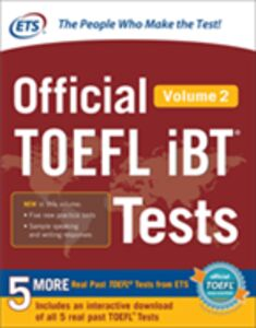 Ebook in inglese Official TOEFL iBT Tests Volume 2 Educational Testing Service
