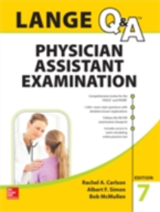 Ebook in inglese LANGE Q&A Physician Assistant Examination, 7th Edition Carlson, Rachel , McMullen, Bob , Simon, Albert
