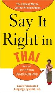 Ebook in inglese Say It Right in Thai EPLS