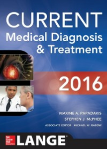 Ebook in inglese CURRENT Medical Diagnosis and Treatment 2016 McPhee, Stephen J. , Papadakis, Maxine A. , Rabow, Michael W.