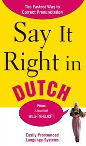 Ebook in inglese Say It Right in Dutch EPLS
