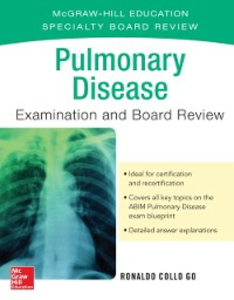 Ebook in inglese Pulmonary Disease Examination and Board Review Go, Ronald