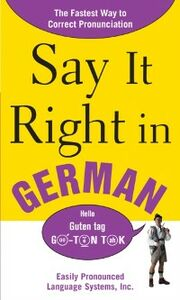 Ebook in inglese Say It Right In German EPLS