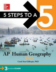 Ebook in inglese 5 Steps to a 5 AP Human Geography 2016 Gillespie, Carol Ann