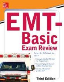 EMT-basic exam review - Peter A. Diprima - copertina
