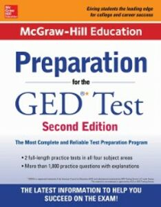 Ebook in inglese McGraw-Hill Education Preparation for the GED Test 2nd Edition Editors, McGraw-Hill Education