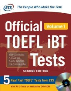 Foto Cover di Official TOEFL iBT Tests Volume 1, 2nd Edition, Ebook inglese di Educational Testing Service, edito da McGraw-Hill Education