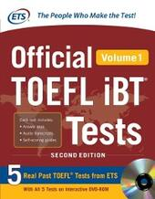 Official TOEFL iBT Tests Volume 1, 2nd Edition