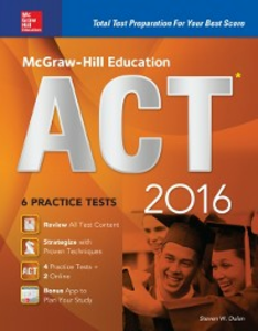 Ebook in inglese McGraw-Hill Education ACT 2016 (ebook) Black, Christopher
