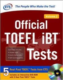 Official TOEFL IBT tests. Vol. 2 - copertina