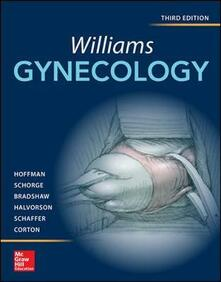 Williams gynecology - copertina