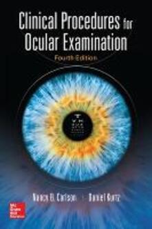 Clinical procedures for ocular examination - Nancy B. Carlson,Daniel Kurtz - copertina