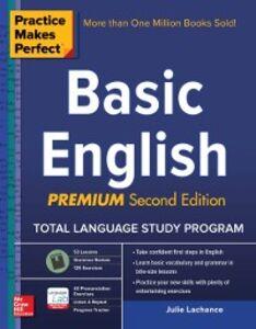 Foto Cover di Practice Makes Perfect Basic English, Second Edition, Ebook inglese di Julie Lachance, edito da McGraw-Hill Education