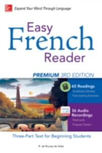 Ebook in inglese Easy French Reader Premium, Third Edition Sales, R. de Roussy de