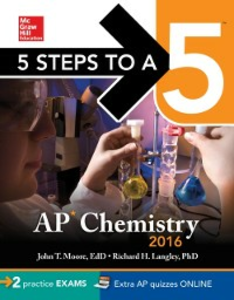 Ebook in inglese 5 Steps to a 5 AP Chemistry 2016 Langley, Richard H. , Moore, John