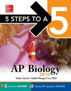Ebook in inglese 5 Steps to a 5 AP Biology 2016 Anestis, Mark , Cox, Kellie Ploeger