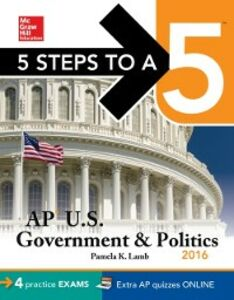 Ebook in inglese 5 Steps to a 5 AP US Government & Politics 2016 Lamb, Pamela K.