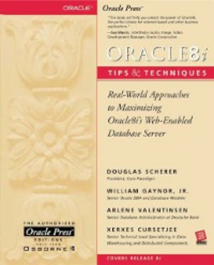 Ebook in inglese Oracle8i Tips & Techniques Scherer, Douglas