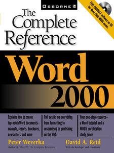 Ebook in inglese Word 2000 Reid, David A. , Weverka, Peter