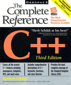 Foto Cover di C++, Ebook inglese di Herbert Schildt, edito da McGraw-Hill