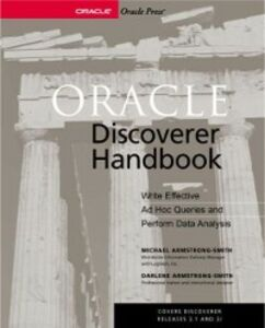 Ebook in inglese Oracle Discoverer Handbook Armstrong-Smith, Darlene , Armstrong-Smith, Michael