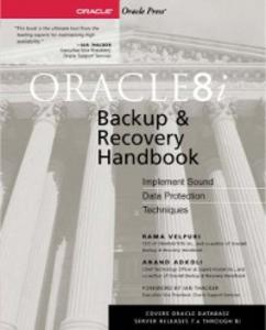 Ebook in inglese Oracle8i Backup & Recovery Adkoli, Anand , Velpuri, Rama