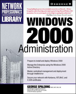 Ebook in inglese Windows 2000 Administration Spalding, George