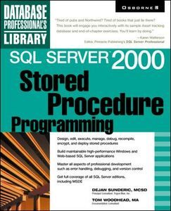 Ebook in inglese SQL Server<sup>TM</sup> 2000 Sunderic, Dejan , Woodhead, Tom